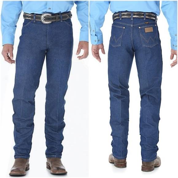 e779295e Wrangler Jeans | Cowboy Rigid Indigo Straight 34 X33 | Poshmark